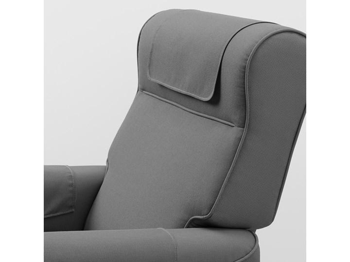 MUREN Fotel rozkładany Głębokość 54 cm Kolor Szary Głębokość 94 cm Wysokość 45 cm Wysokość 97 cm Szerokość 85 cm Kategoria Fotele do salonu