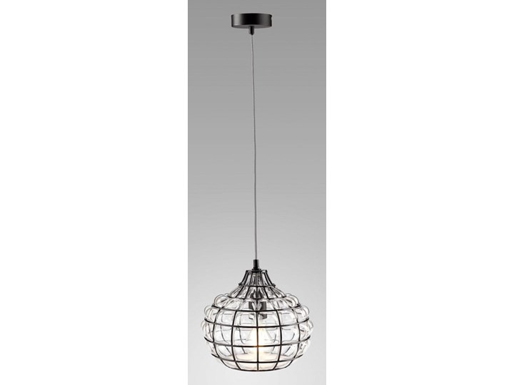 Klasyczna lampka stołowa Stockholm ze szkła Lampa z abażurem Wysokość 47 cm Wysokość 22 cm Styl Nowoczesny Lampa nocna Styl Klasyczny