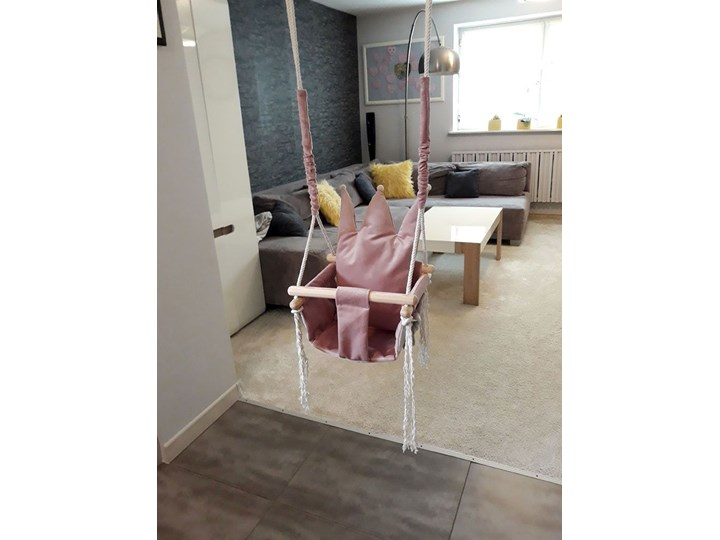 Różowa huśtawka dla dziewczynki - Rolly Kubełkowa Kategoria Huśtawki dla dzieci