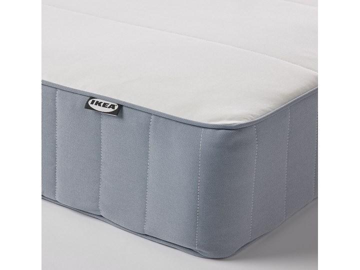 IKEA ESPEVÄR/VESTMARKA Łóżko kontynentalne, biały/twardy jasnoniebieski, 90x200 cm Kategoria Łóżka do sypialni