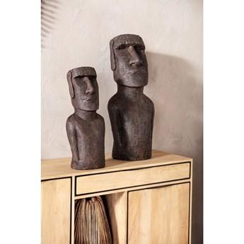 Figurka dekoracyjna Easter Island 80 cm szara
