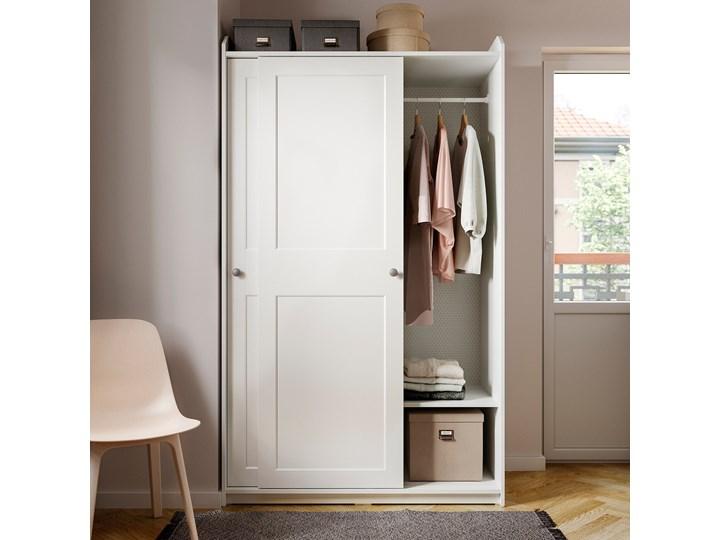 HAUGA Kombinacja szafy Wysokość 199 cm Szerokość 258 cm Głębokość 55 cm Lustro