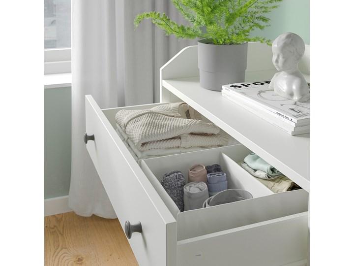 HAUGA Kombinacja szafy Szerokość 258 cm Rodzaj drzwi Uchylne Wysokość 199 cm Głębokość 55 cm Kolor Biały