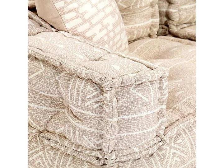 Dwuosobowa beżowa sofa modułowa - Demri 3D Modułowe Szerokość 70 cm Styl Vintage