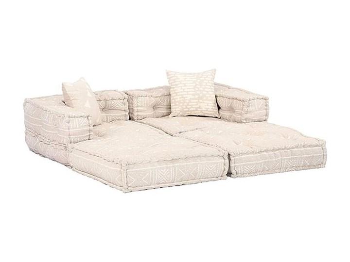 Dwuosobowa beżowa sofa modułowa - Demri 3D Kategoria Sofy i kanapy Szerokość 70 cm Modułowe Rozkładanie Rozkładana