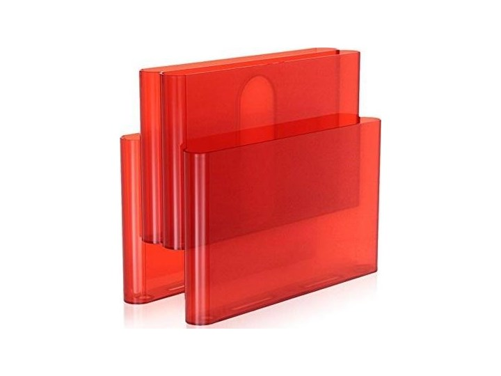 Gazetnik Pockets transparentny pomarańczowy Tworzywo sztuczne Kategoria Gazetniki
