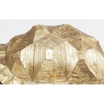 Dekoracja stojąca Turtle 60x32 cm złota
