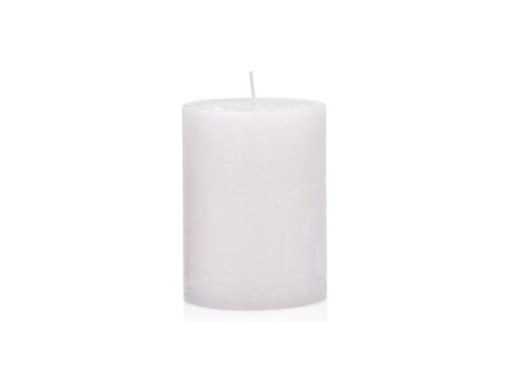 Świeca walec DUKA FRYST 10 cm biała parafina Kategoria Świeczniki i świece