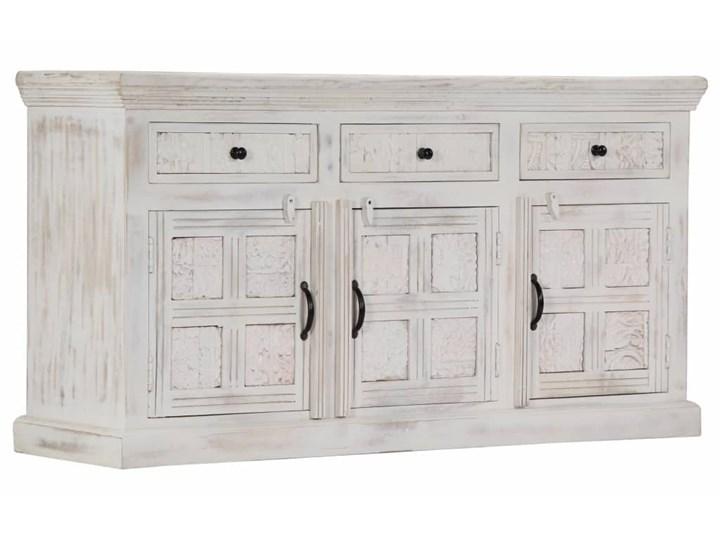 vidaXL Komoda, biała, 140x40x74 cm, lite drewno mango Szerokość 140 cm Szerokość 105 cm Z szafkami i szufladami Głębokość 40 cm Pomieszczenie Sypialnia