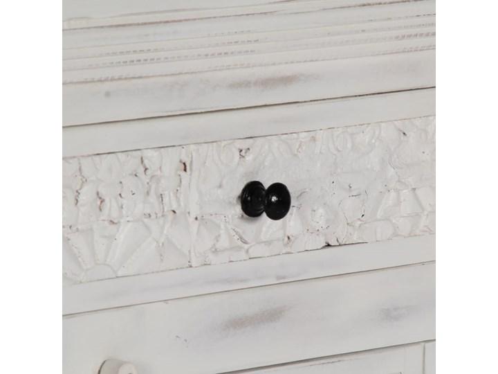 vidaXL Komoda, biała, 140x40x74 cm, lite drewno mango Z szafkami i szufladami Szerokość 105 cm Głębokość 40 cm Szerokość 140 cm Kolor Biały Kategoria Komody
