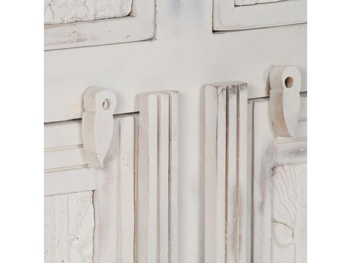 vidaXL Komoda, biała, 140x40x74 cm, lite drewno mango Z szafkami i szufladami Głębokość 40 cm Szerokość 105 cm Szerokość 140 cm Pomieszczenie Salon