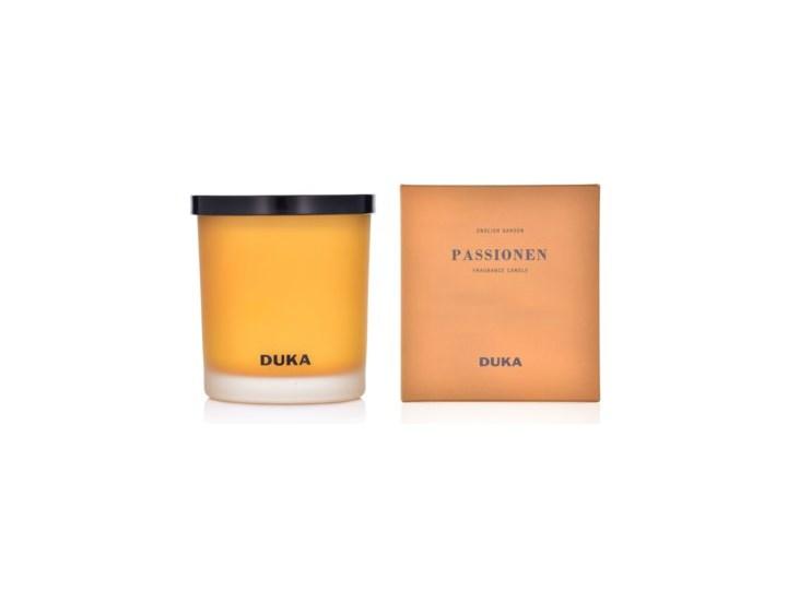 Świeca zapachowa sojowa English Garden DUKA PASSIONEN 300 g żółta Kategoria Świeczniki i świece