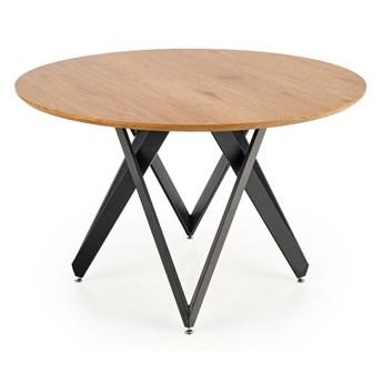 Industrialny stół z okrągłym blatem Mozambik