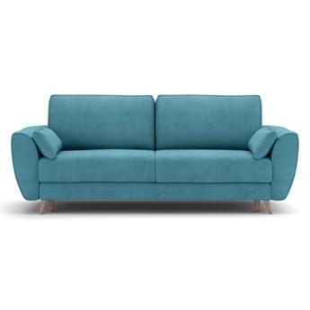 Sofa AQUA 3-osobowa, rozkładana    ZIELONY_NIEBIESKI   Salony Agata