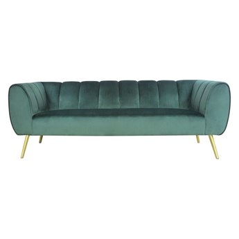 Salony Agata  Sofa ORDINE 3-osobowa   zielenie błękity