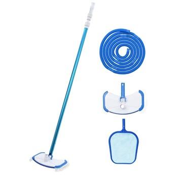 VidaXL 4-częściowy zestaw do czyszczenia basenu