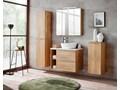 Podwieszany słupek łazienkowy - Malta 2X Dąb Szerokość 35 cm Wiszące Kategoria Szafki stojące Drewno Wysokość 170 cm Kolor Beżowy