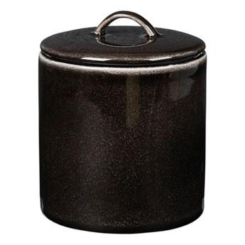 Broste Copenhagen - Pojemnik ceramiczny Nordic Coal