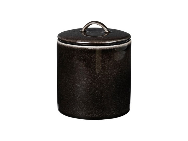 Broste Copenhagen - Pojemnik ceramiczny Nordic Coal Ceramika Kategoria Pojemniki i puszki