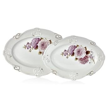 Zestaw 2 porcelanowych talerzy Franz Dmitry