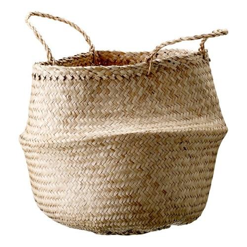 Kosz z trawy morskiej Bloomingville Basket, ø 40 cm
