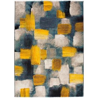 Niebiesko-żółty dywan Universal Lienzo, 120x170cm
