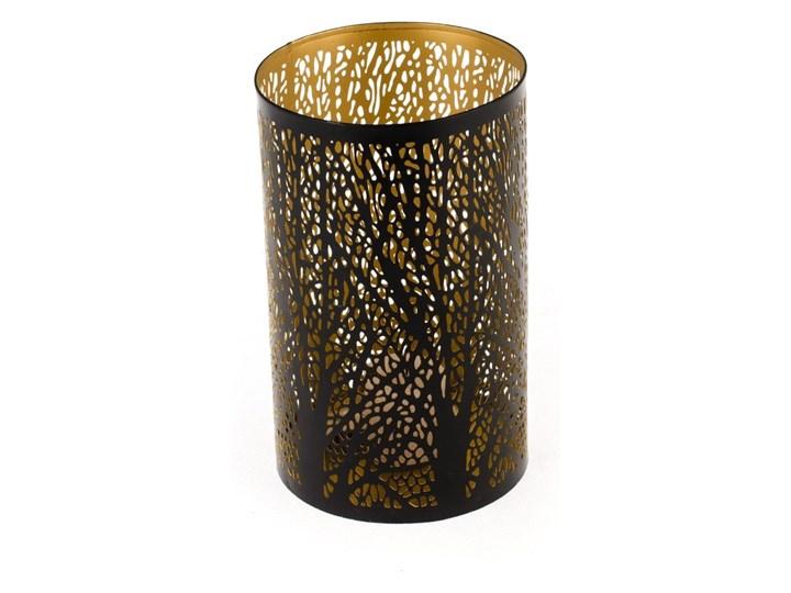 Świecznik metalowy Dakls Max, wys. 20 cm