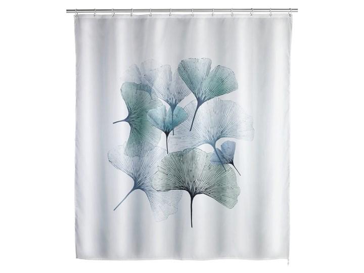 Zasłona prysznicowa odpowiednia do prania Wenko Ginkgo, 180x200 cm