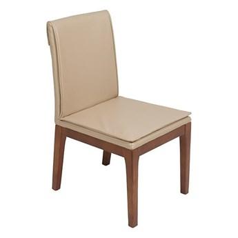 Zestaw 2 kremowych krzeseł z konstrukcją z drewna dębowego Santiago Pons Donato