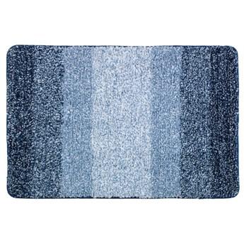 Niebieski dywanik łazienkowy Wenko Luso, 60x90 cm