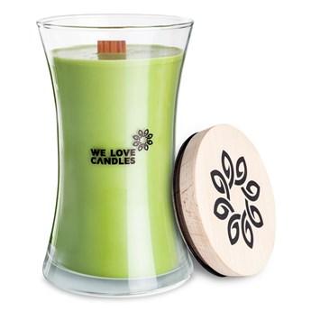 Świeczka z wosku sojowego We Love Candles Green Tea, 150 h