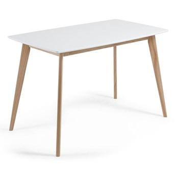 Stół do jadalni z drewna jesionowego La Forma Unit, 140 x 80 cm