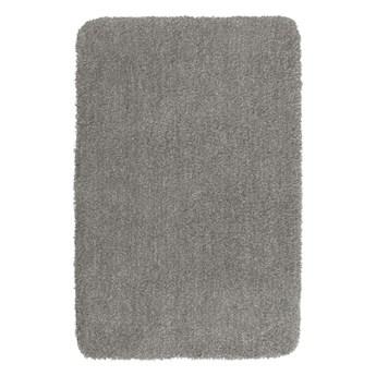 Jasnoszary dywanik łazienkowy Wenko Mélange, 65x55 cm