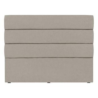 Kremowy zagłówek łóżka Mazzini Sofas Pesaro, 200x120 cm