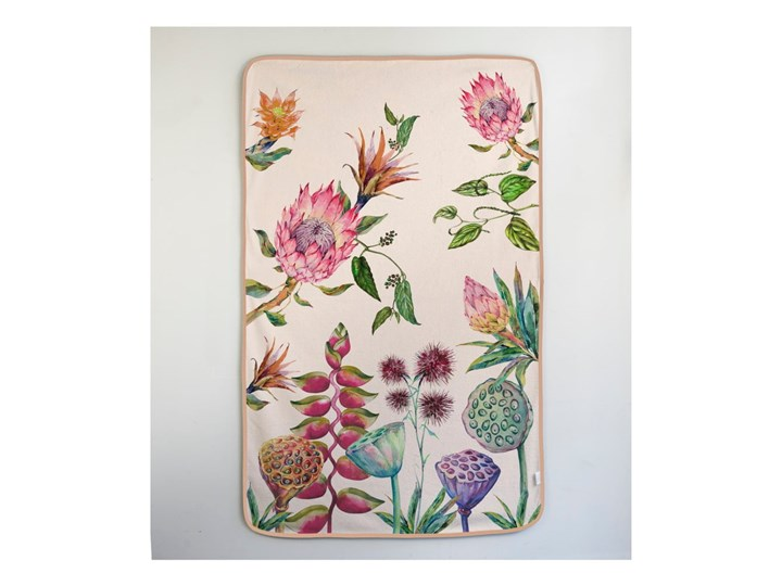 Ręcznik Madre Selva Flores Salvajes, 150x90 cm Ręcznik kąpielowy 90x150 cm Bawełna Młodzieżowe Kategoria Ręczniki