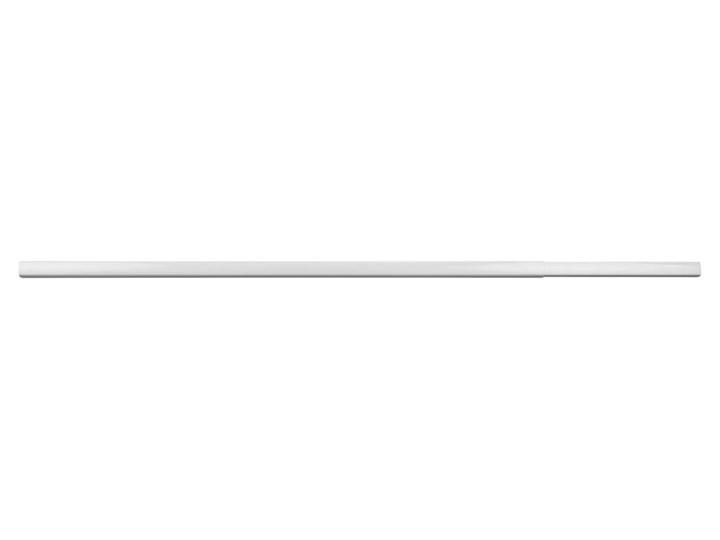 Biały teleskopowy drążek na zasłonę prysznicową Wenko Era, maks. regulowana dł. 210 cm
