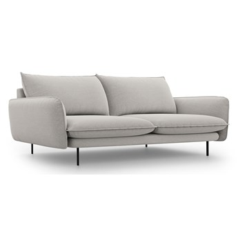 Jasnoszara sofa Cosmopolitan Design Vienna, 230 cm