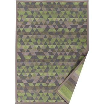 Zielony dywan dwustronny Narma Luke, 70x140 cm