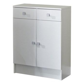 Biała szafka łazienkowa Symbiosis Combi, szer.60cm