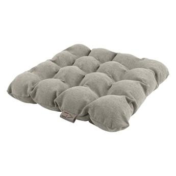 Jasnoszara poduszka do siedzenia z piłkami do masażu Linda Vrňáková Bubbles, 45x45 cm
