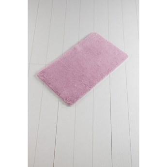 Różowy dywanik łazienkowy Minto Duratto, 100x60 cm
