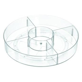 Okrągły przezroczysty pojemnik iDesign The Home Edit, ⌀ 45,7 cm