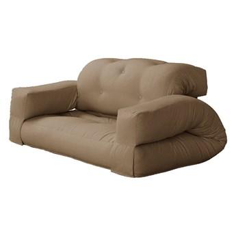 Sofa rozkładana z brązowym obiciem Karup Design Hippo Mocca