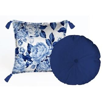 Zestaw 2 poduszek dekoracyjnych Velvet Atelier Flowers