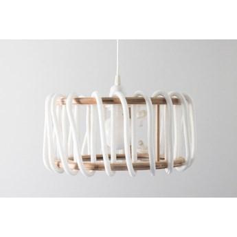 Biała lampa wisząca EMKO Macaron, ø 45 cm