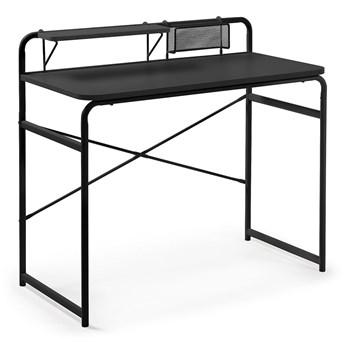 Czarne biurko La Forma Foreman