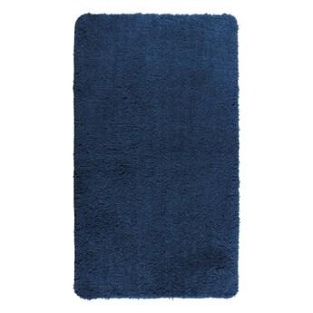 Ciemnoniebieski dywanik łazienkowy Wenko Belize, 90x60 cm