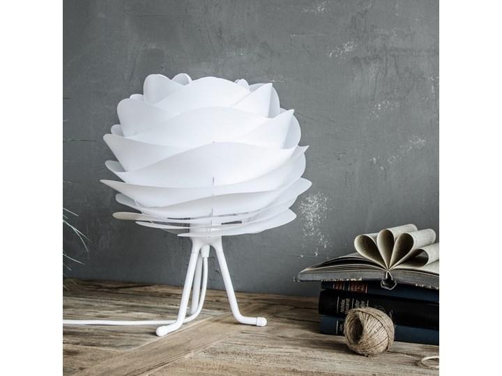 Biały regulowany trójnożny stojak na lampę VITA Copenhagen, wys.18,6cm Lampa dekoracyjna Wysokość 16 cm Kategoria Lampy stołowe