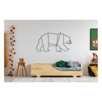 Łóżko dziecięce z drewna sosnowego Adeko Mila BOX 4, 90x200 cm
