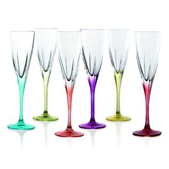 Zestaw 6 kieliszków do szampana RCR Cristalleria Italiana Gemma